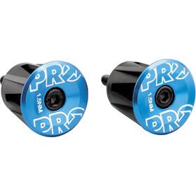 PRO Handlebar End Plugs, blu